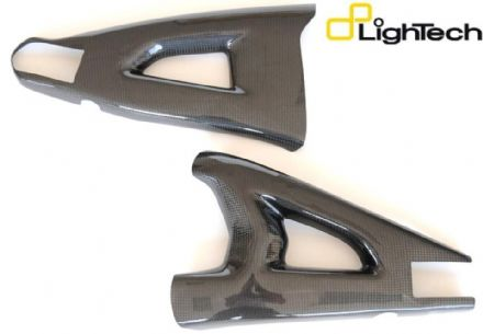 Lightech Carbon Fibre Swingarm Protection Kawasaki ZX10R 2011-2015